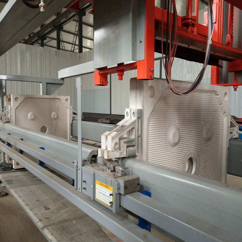 Paper Plant Wastewater Treatment Filter Press