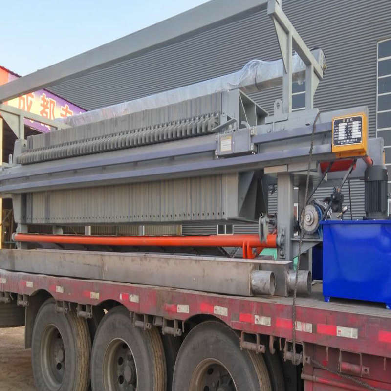 Coal Washing Dewatering Filter Press For Industrial