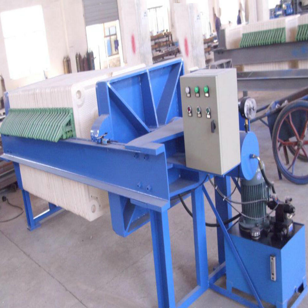 Industrial Paper Wastewater Treatment Chamber Filter Press