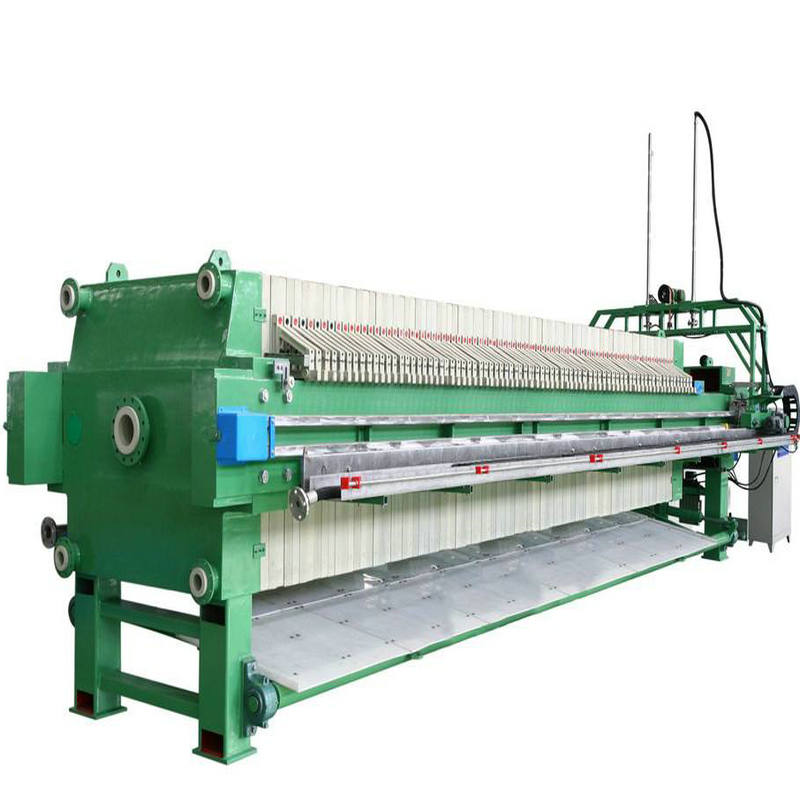 Famous Brand Hydraulic Recessed Membrane Filter Press