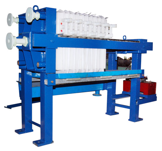 Professional Pharmacy Plate Frame Filter Press Hydraulic