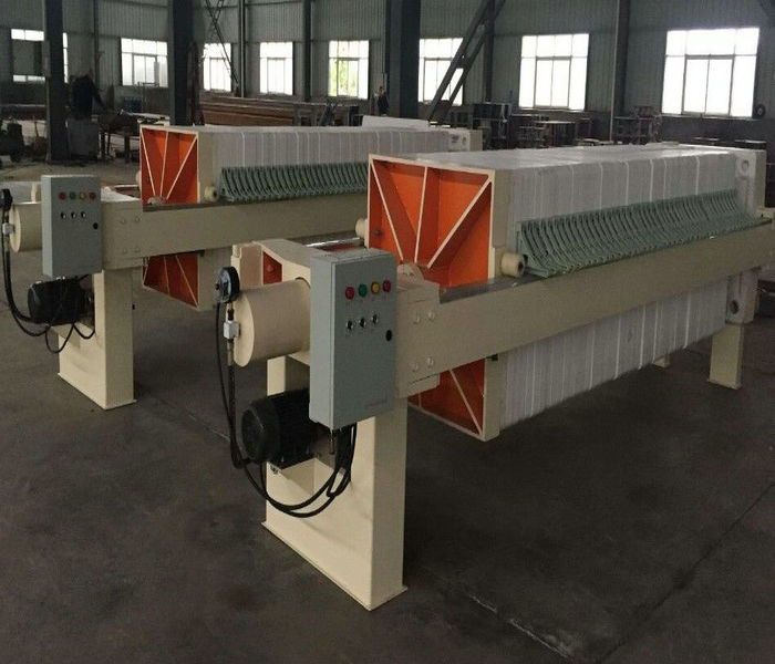 Chemical Industry Chamber Membrane Filter Press Hydraulic