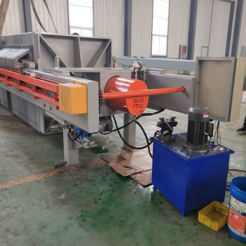 High pressure sludge cast iron filter press