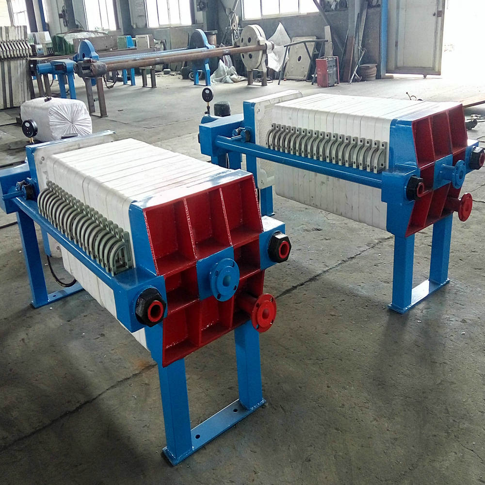 Tail Coal Slurry Treatment Chamber Filter Press