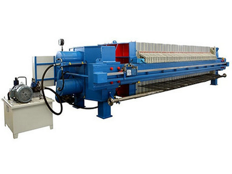 Sewage Treatment Cast Iron Filter Press
