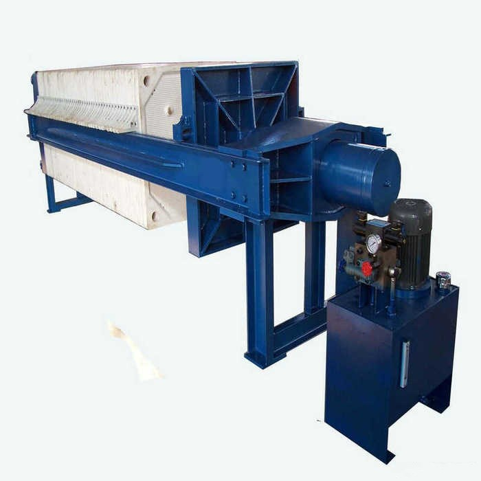 Sewage Treatment Hydraulic Plate Frame Filter Press