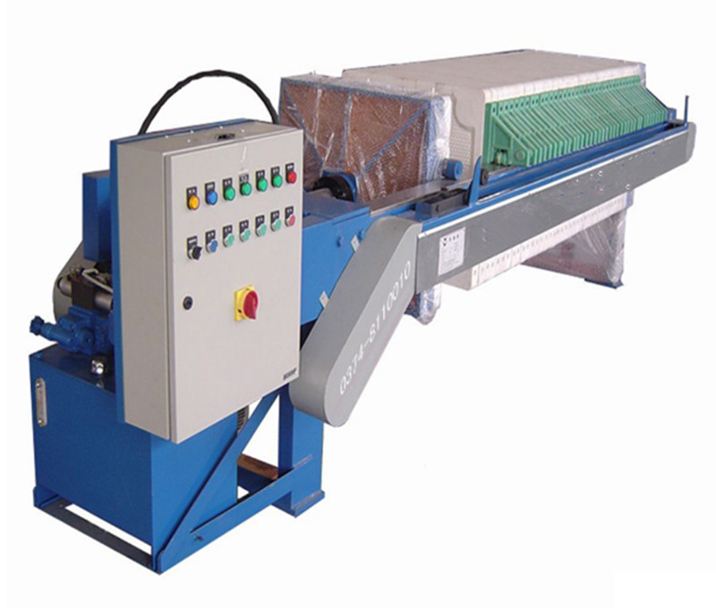 Sweet Potato Processing Industry Plate Frame Filter Press