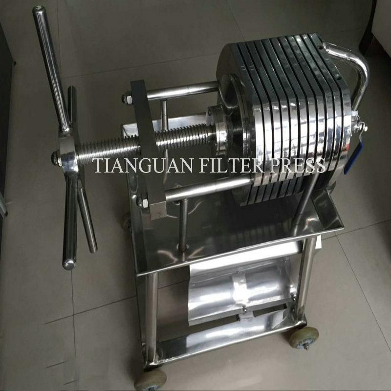 Hydraulic Stainless Opening Filter Press Wasterwater