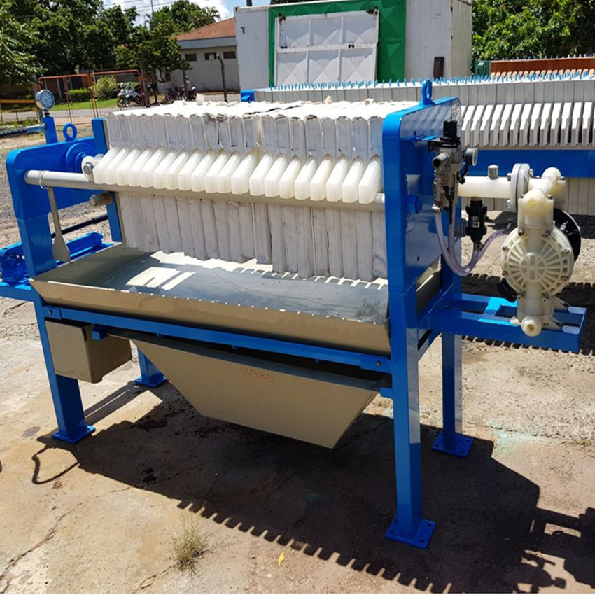 Paper Industry Chamber High Pressure Membrane Filter Press