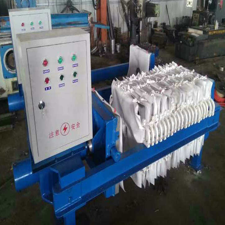 High Quality Chemical Industry Stainless Steel Filter Press