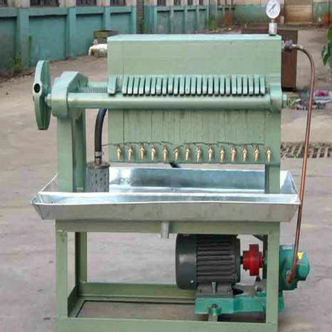 Bentonite Hydraulic Chamber Membrane Filter Press