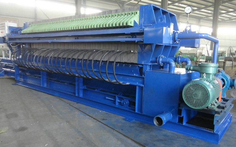 Large Equipment Chamber Filter Press For Coal Industrial