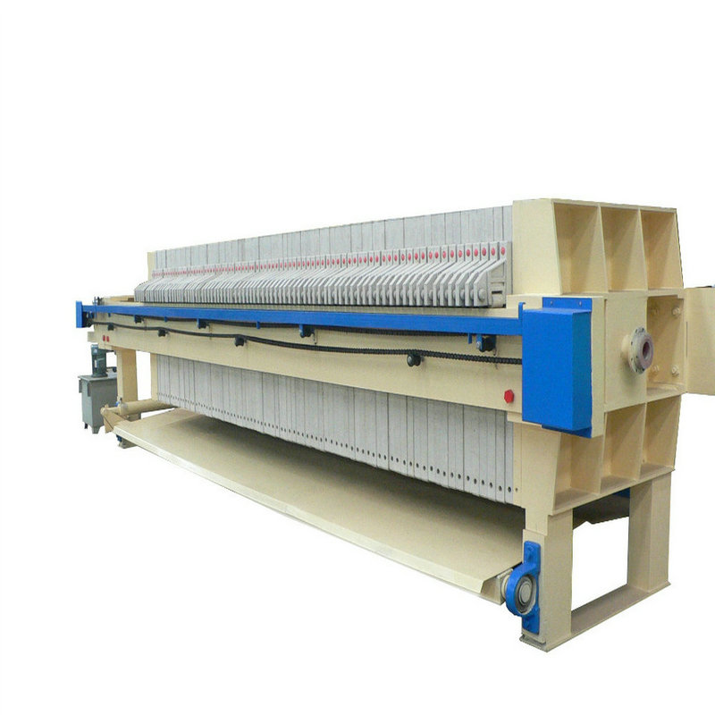 Hydraulic Pottery Clay Membrane Cloth Filter Press
