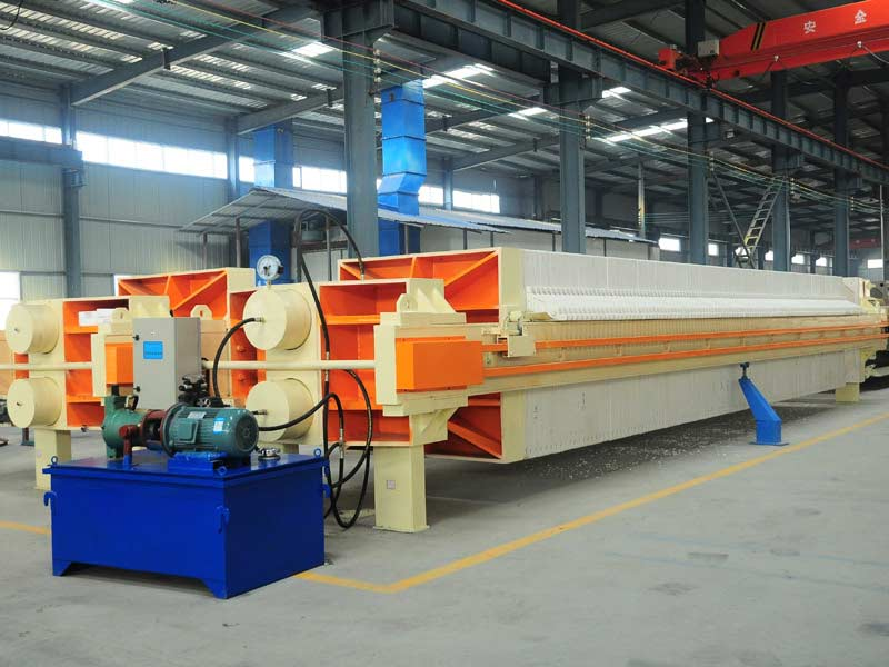 High Pressure Paper Industrial Chamber Membrane Filter Press