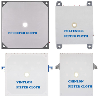 Vinylon Filter Press Cloth for Liquid Press Filtration