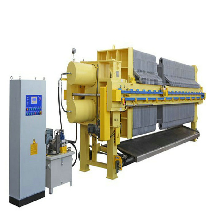 Automatic Plate Frame Filter Press For Metallurgy