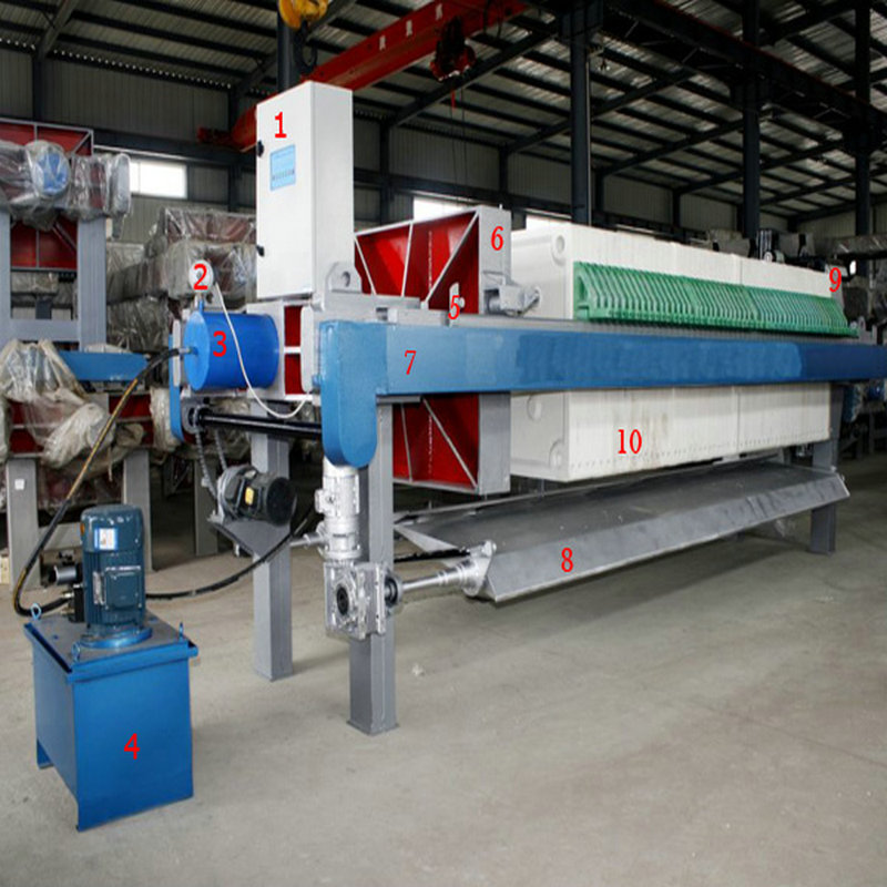 Automatic Chamber Filter Press For Chemical Industry