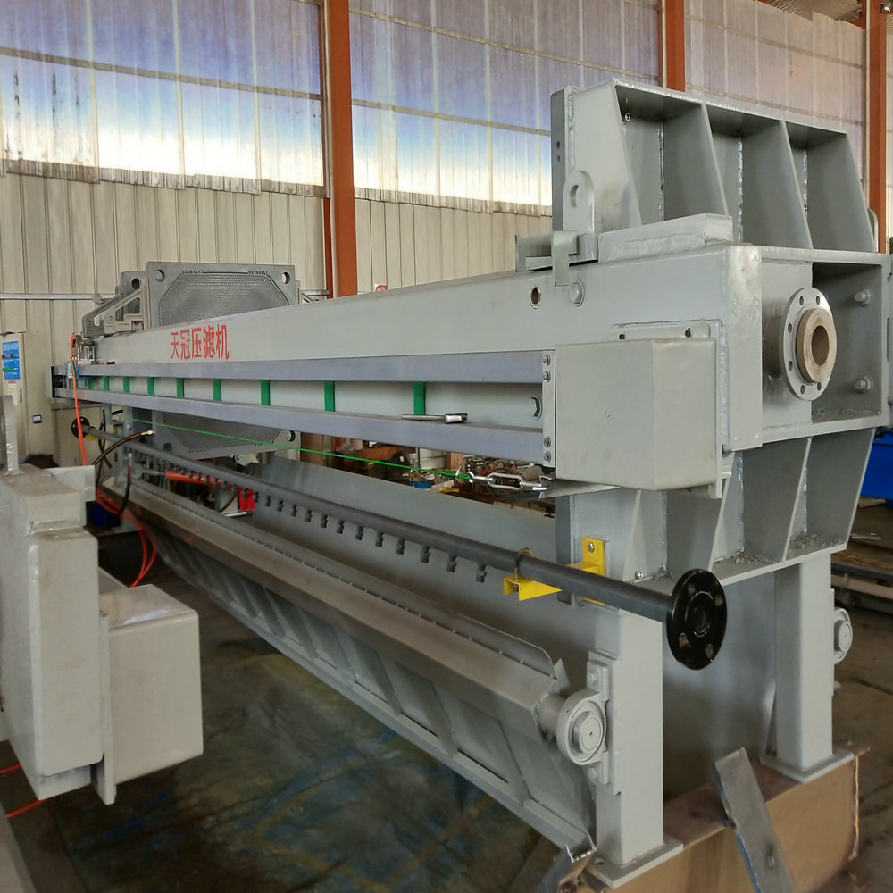 Chamber Filter Press for Sugar Refinery