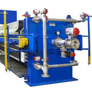 Waste Water Flexible Diaphragms Sludge Filter Press