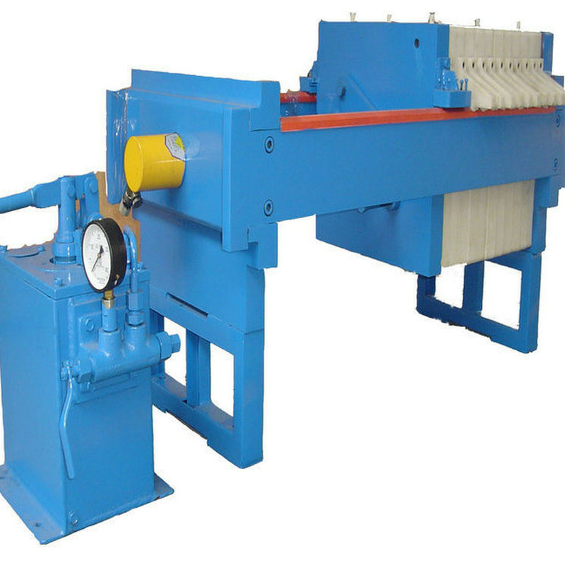 Easy Operation Food Beverage Cast Iron Filter Press