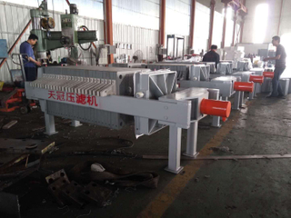Big Capacity Sugar Syrup Plate Frame Filter Press