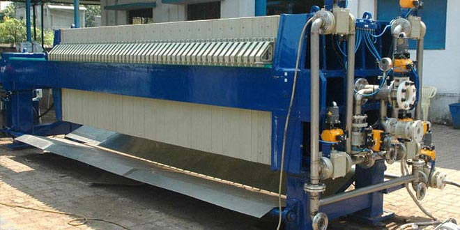 Automatic Hydraulic Food Beverage Cast Iron Filter Press