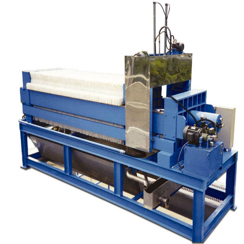Strong Pressure Sewage Dewatering Membrane Filter Press
