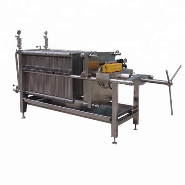 Square Designed Plate and Frame Stainless Filter Press