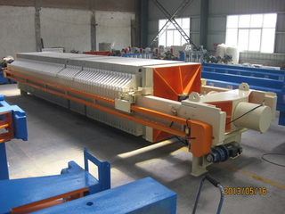 Automatic Washing Metallurgy Chamber Membrane Filter Press