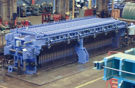 Sludge Dewatering Treatment Filter Press