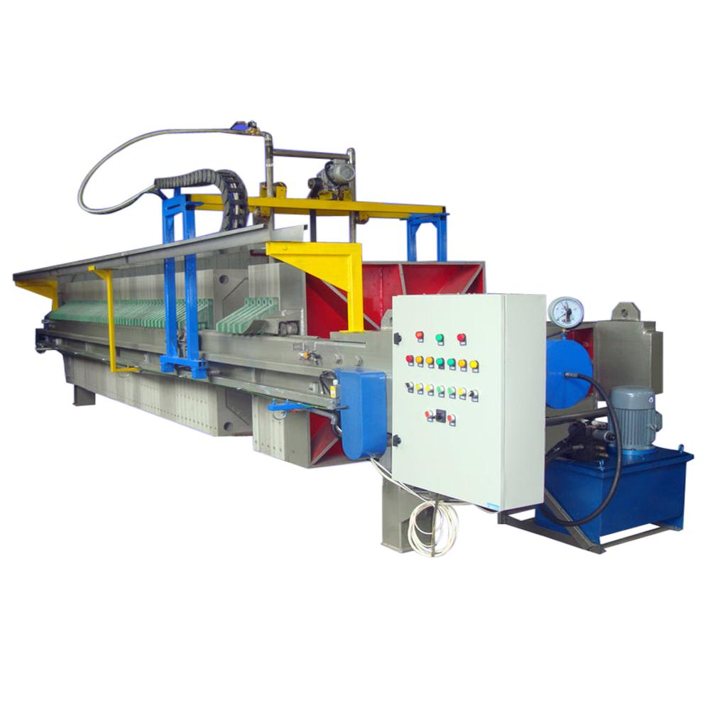 Sugar Syrup Chamber Filter Press Automatic Treatment