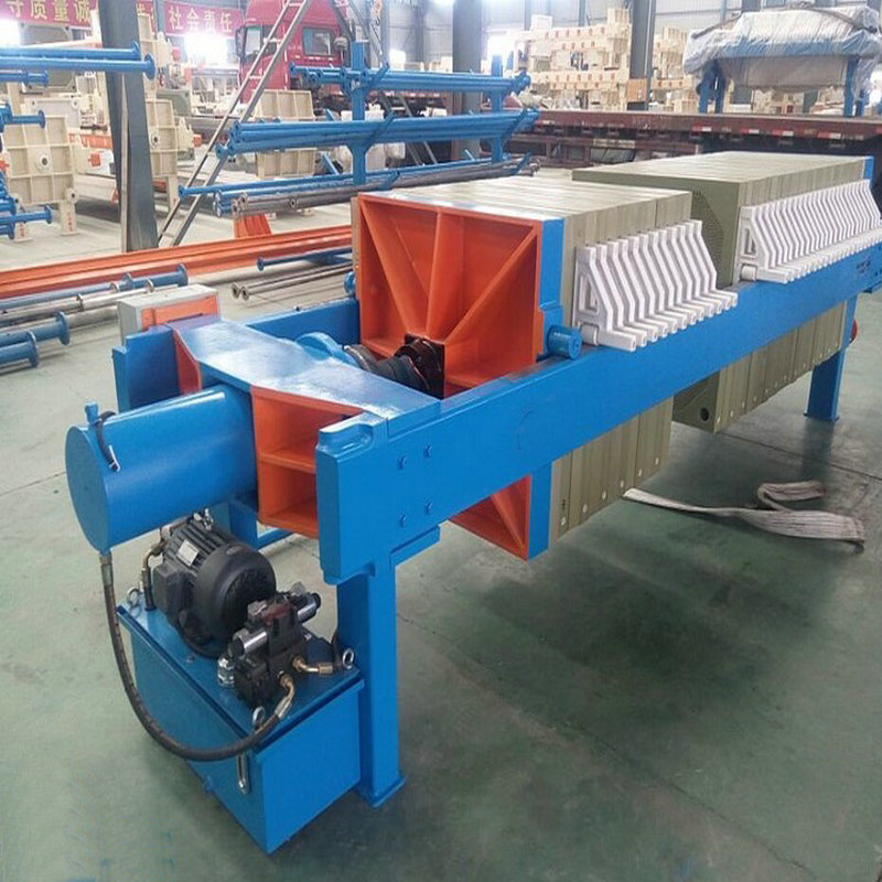 Ceramic Clay Recessed Chamber Filter Press