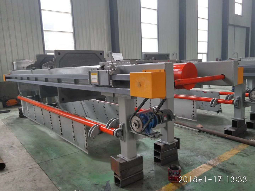 Small Chemical Plant Water Treatment Filter Press