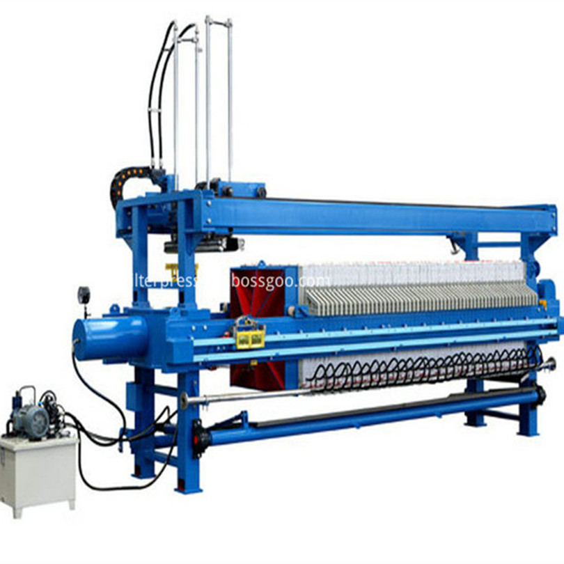Auto Hydraulic Chamber Filter Press Machine