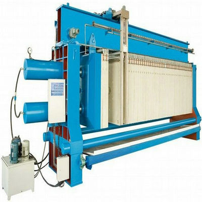 Durable Chamber Filter Press With PLC Control System