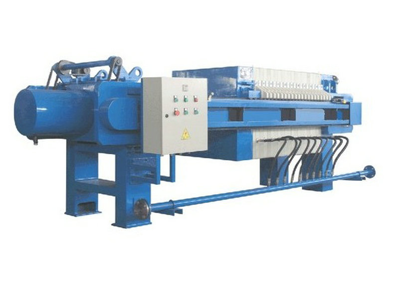 PLC Control Automatic Desliming Recessed Filter Press
