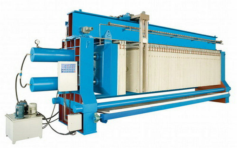 Chemical Water Treatment Dewatering Membrane Filter Press