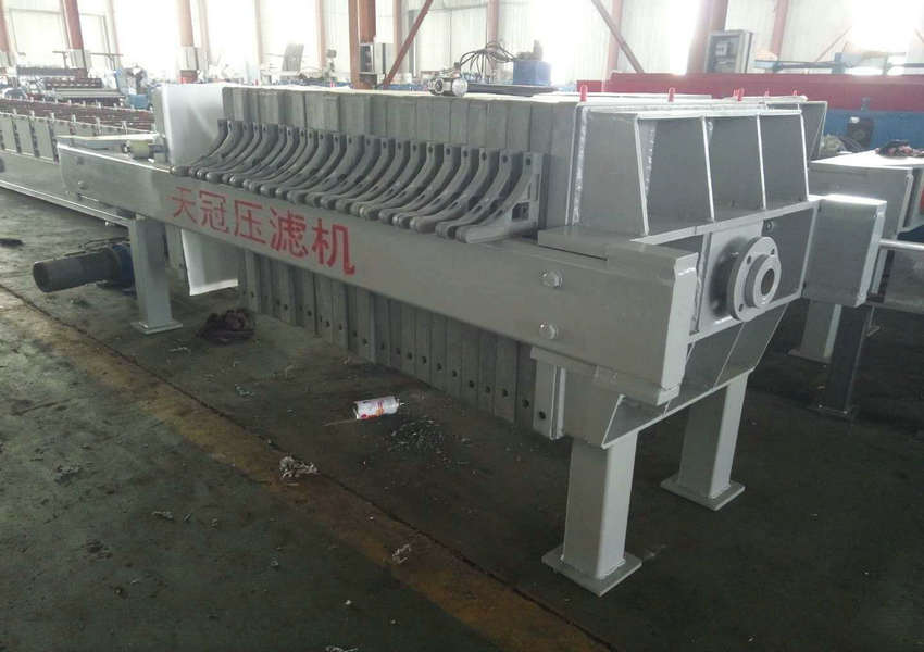 High Effective Hydraulic Pottery Clay Chamber Filter Press