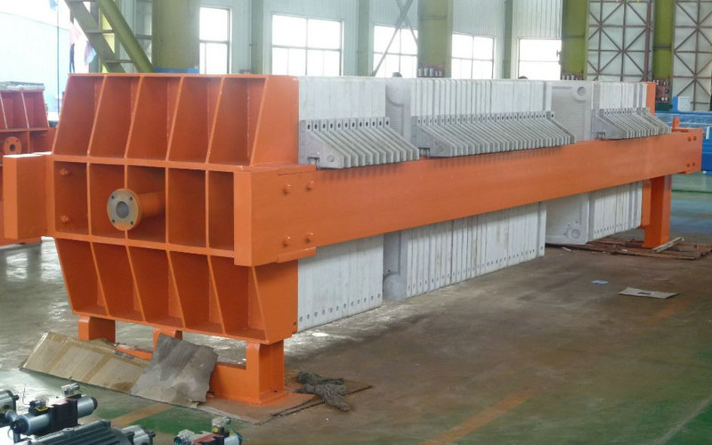PLC Control Coal Washing Plate Frame Filter Press