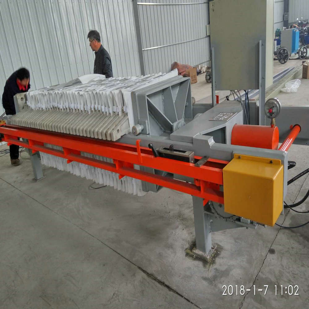 Hydraulic Chemical Industry Cast Iron Filter Press