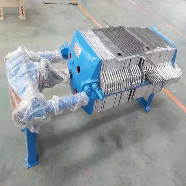 Hydraulic Plate Filter Press In Beverage Plant