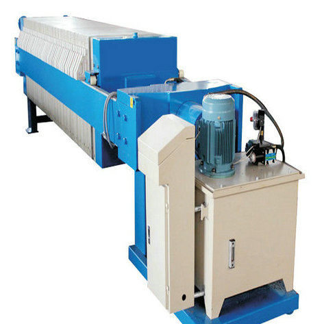 Chemical Industry Plate Frame Filter Press Hydraulic