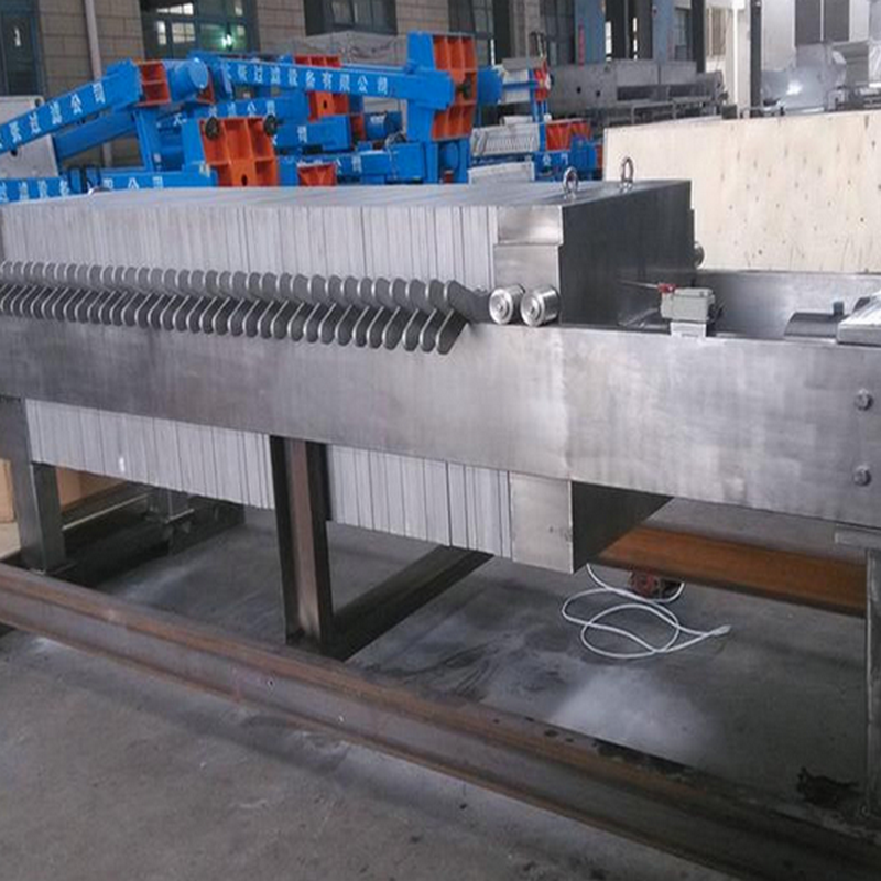 Automatic Filtration Cast Iron Filter Press For Beverage