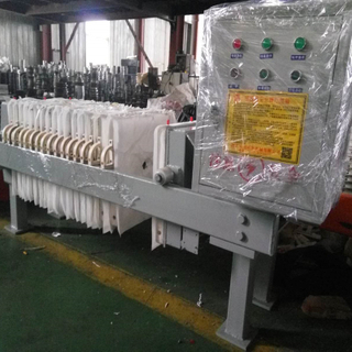 High Efficiency Filter Press Equipment for pant and waste water treatment